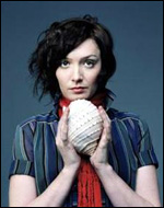 Sarah Blasko and her conch shell