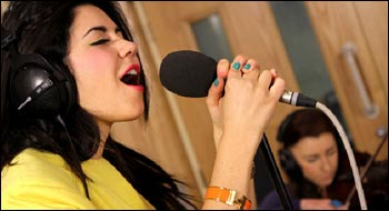 Marina and the Diamonds in the Live Lounge at Radio 1