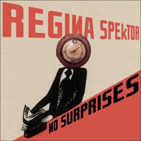 Artwork for Regina Spektor's cover of No Surprises