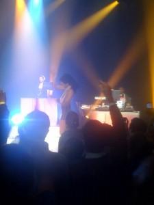 Kelis at the Album Chart Show