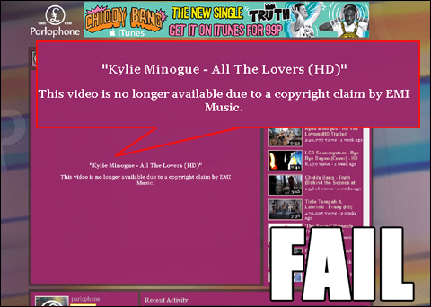 Copyright law - you're doing it wrong