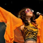 Marina and her Diamond sunglasses