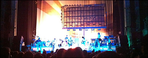 Arcade Fire at the Hackney Empire
