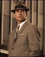 Jon Hamm as Mad Men's Donald Draper