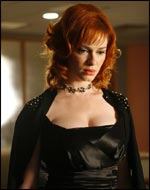 Christina Hendricks as Mad Men's Joan Holloway